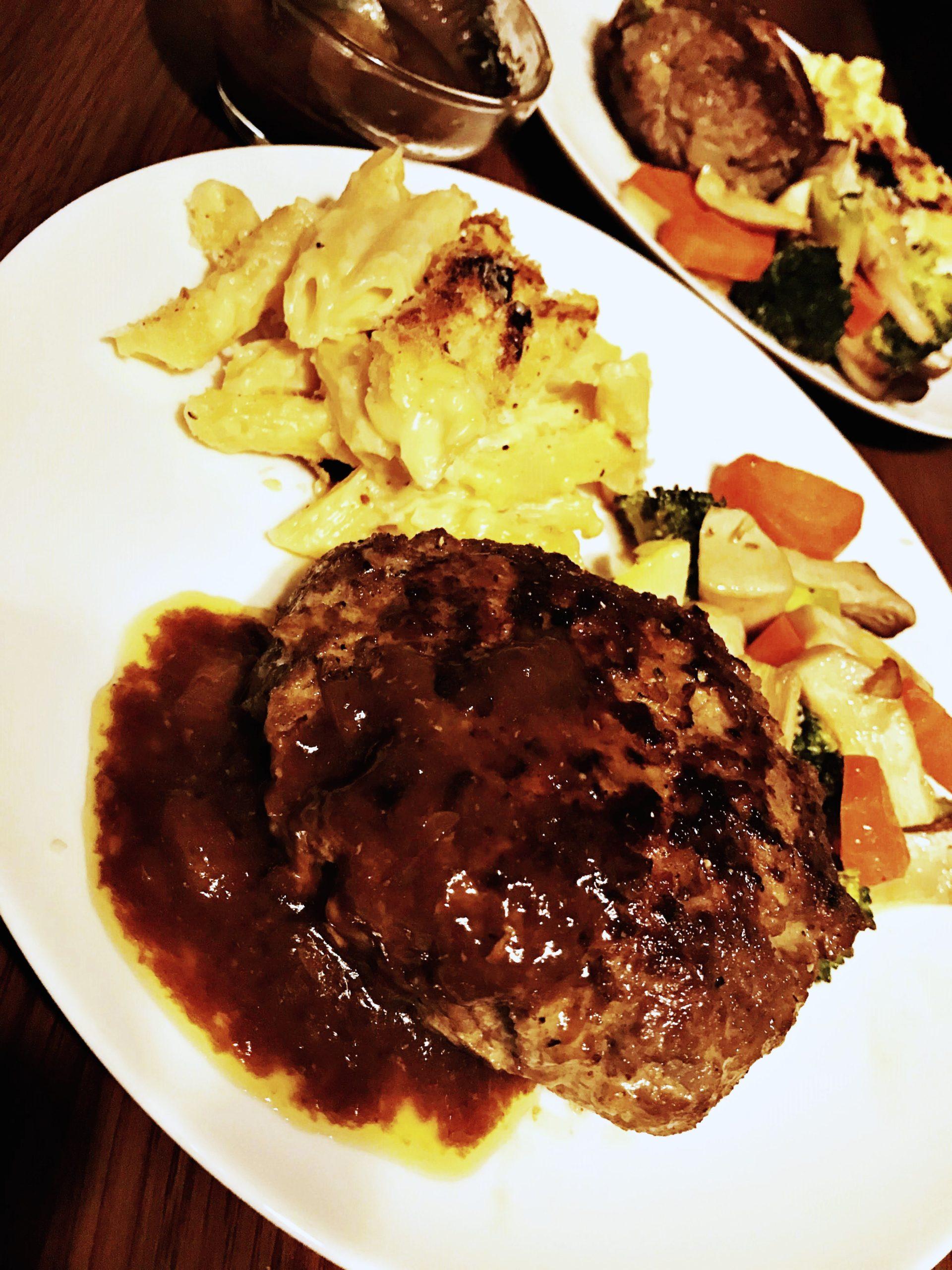 The Thickest Hamburger Steak