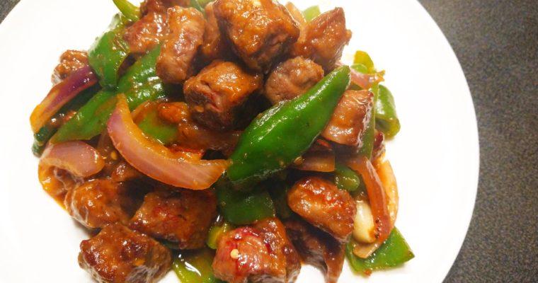 The Easiest Mongolian Beef
