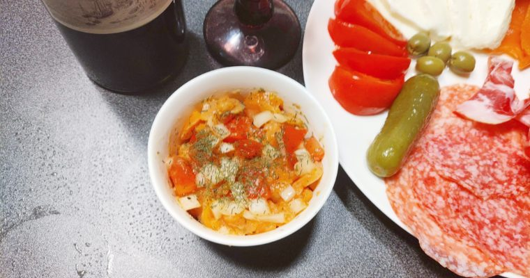 One more dish to your home cooking! Salmon Tartare